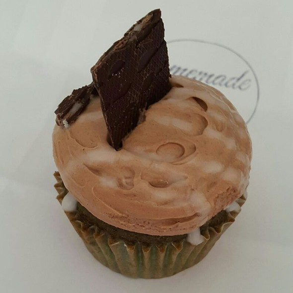 after eight cupcake @ Homemade We Eat Fine