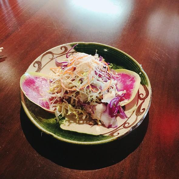 Salad @ Binchoyaki Izakaya Dining