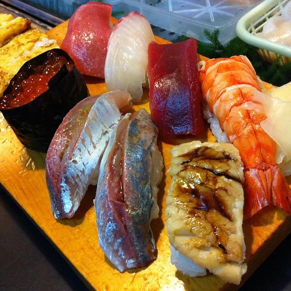 Assorted Sushi @ Somewhere, Yokohama