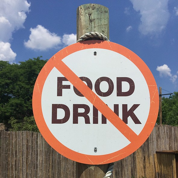 No Food Or Drink @ Pittsburgh Zoo & Ppg Aquarium