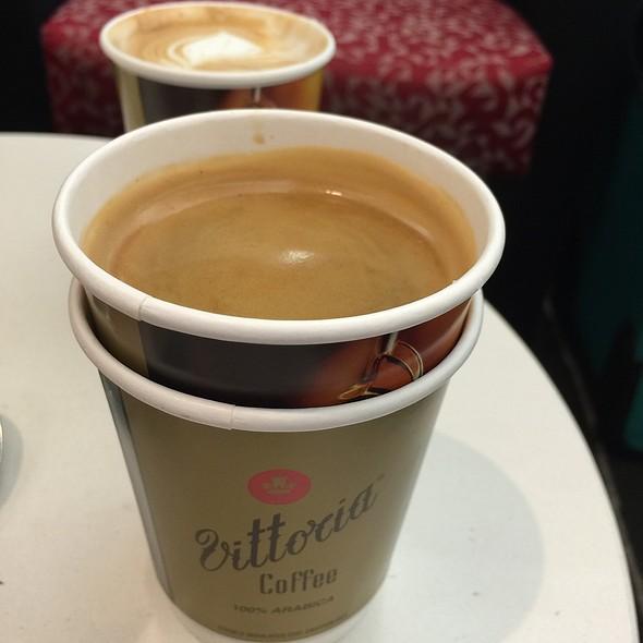 Coffee @ Qantas Club Brisbane