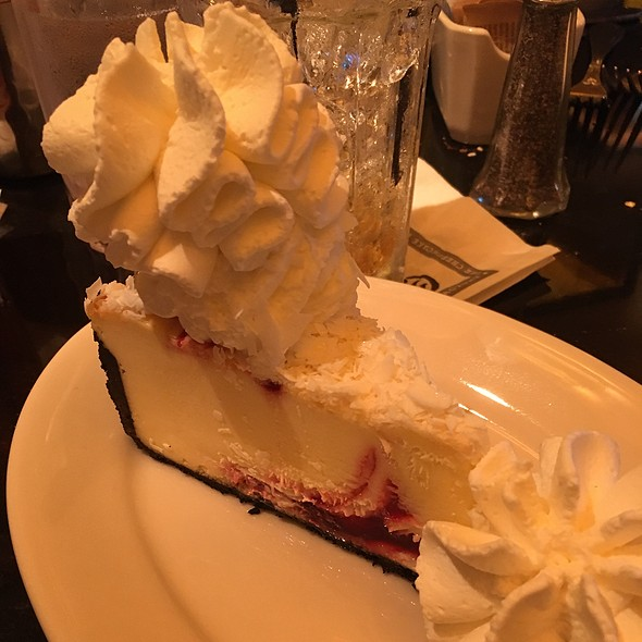 White Chocolate Raspberry Cheesecake @ The Cheesecake Factory