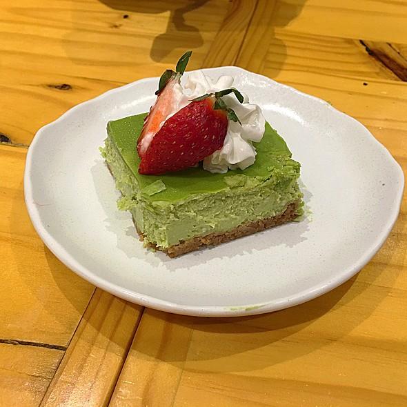 Matcha Cheesecake @ Rinka
