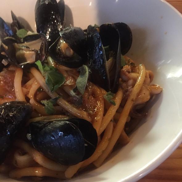 Shellfish Bucatini - Nostrano, Madison, WI