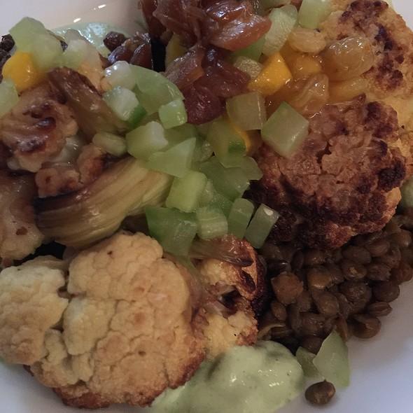 Cauliflower Steak - Hyde Park Bar & Grill - Duval, Austin, TX
