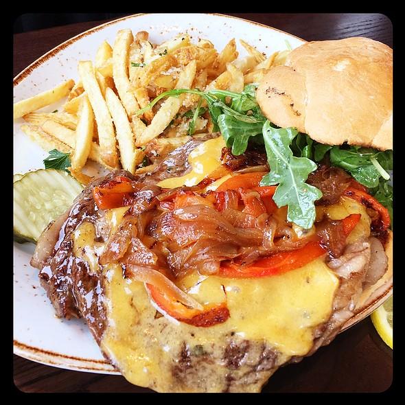 Butcher's Steak Sandwich @ McWethy's Tavern