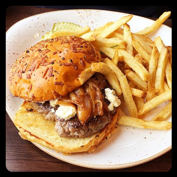 Lamb Burger @ McWethy's Tavern
