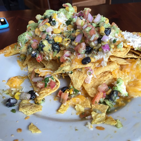 Crab Nachos @ Timberline Bar & Grill