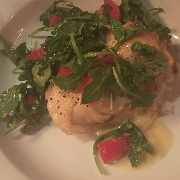 Seared Grouper @ Garibaldi's Cafe