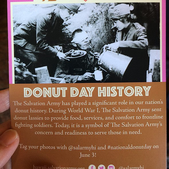 We are celebrating the National Doughnut Day! Hooray!