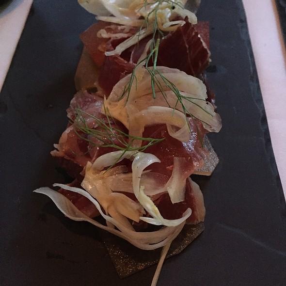 Iberico Ham & Compressed Melon - Café Boulud Palm Beach, Palm Beach, FL