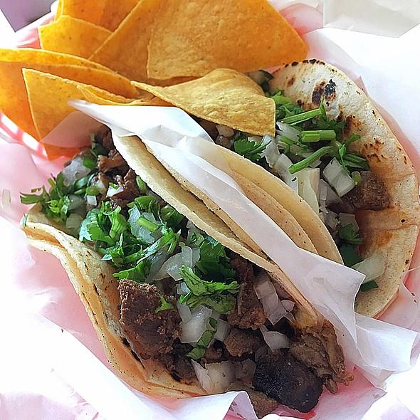 Beef Tacos @ Tacos Zarate
