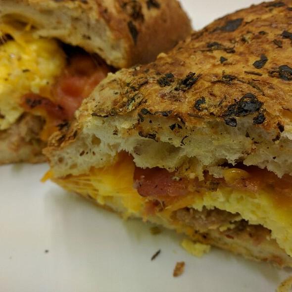Breakfast Sandwich @ California Pizza Kitchen