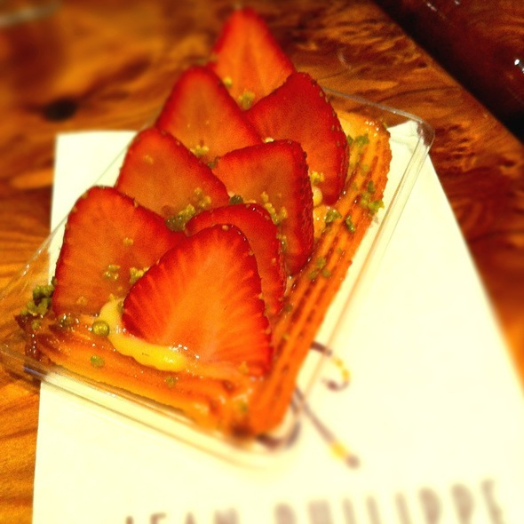 Strawberry Tart @ Jean Philippe Patisserie