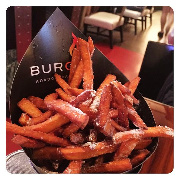 Sweet potato fries @ BurGR Gordon Ramsey