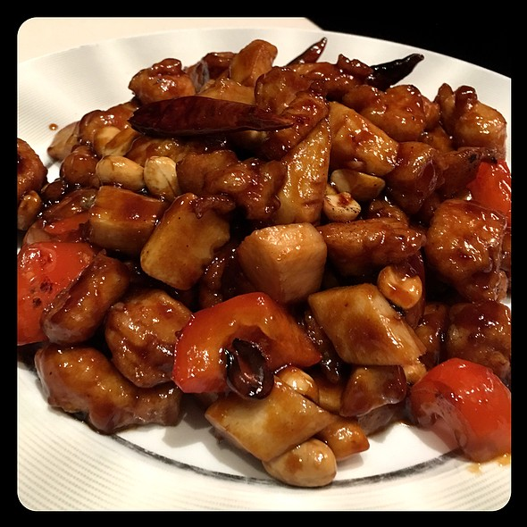Kung Pao Chicken @ Blossom at ARIA