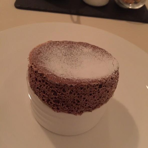 Chocolate Souffle @ The Fearrington House Inn