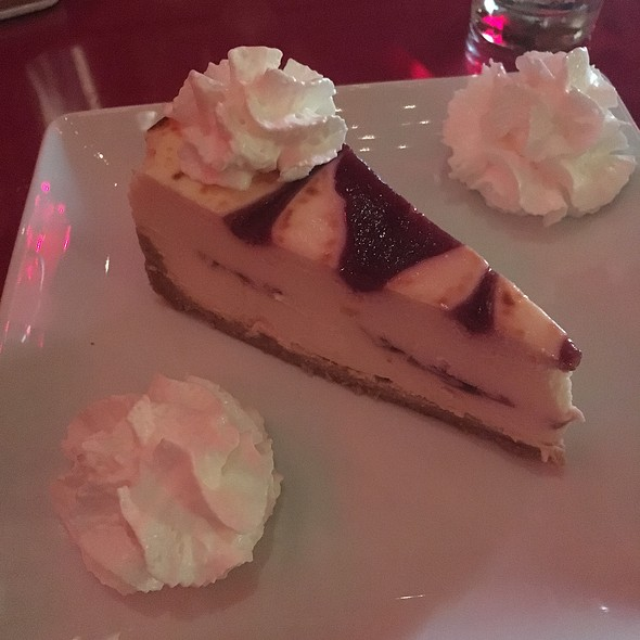 White Chocolate Raspberry Cheesecake @ Goatfeathers Coffee Bar & Restaurant