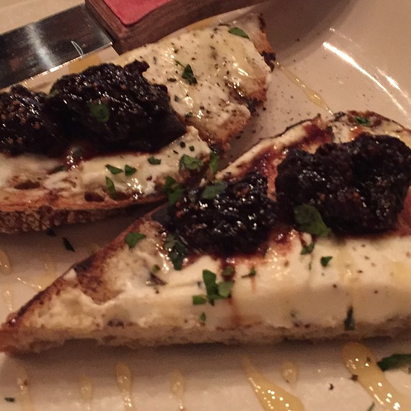 Goat Cheese And Fig Toast @ Harding's