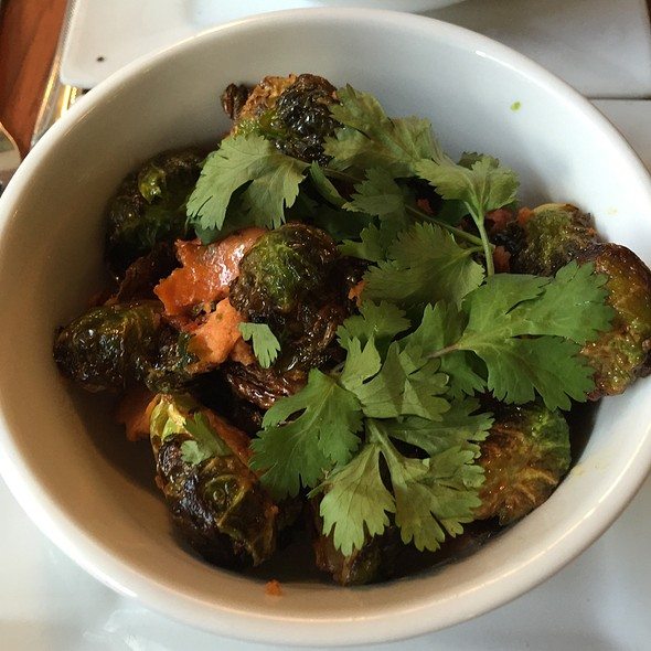 roasted brussel sprouts @ The Rookery Cafe