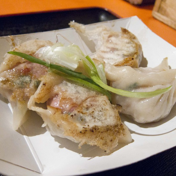 Pork Dumplings @ Dumpling Man