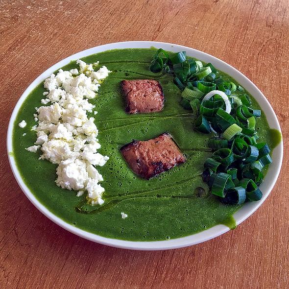 Asparagus Soup With Foie Gras @ Home @ Martin