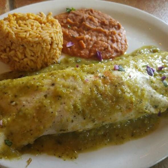 Veggie Enchilada @ Arriba Tortilla