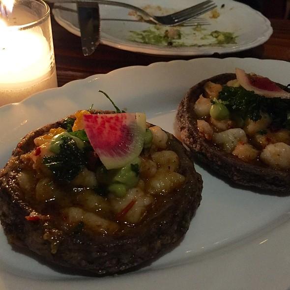 Shrimp And Bone Marrow Sopes @ Bracero