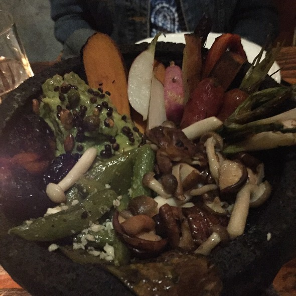 Roasted Vegetables @ Bracero