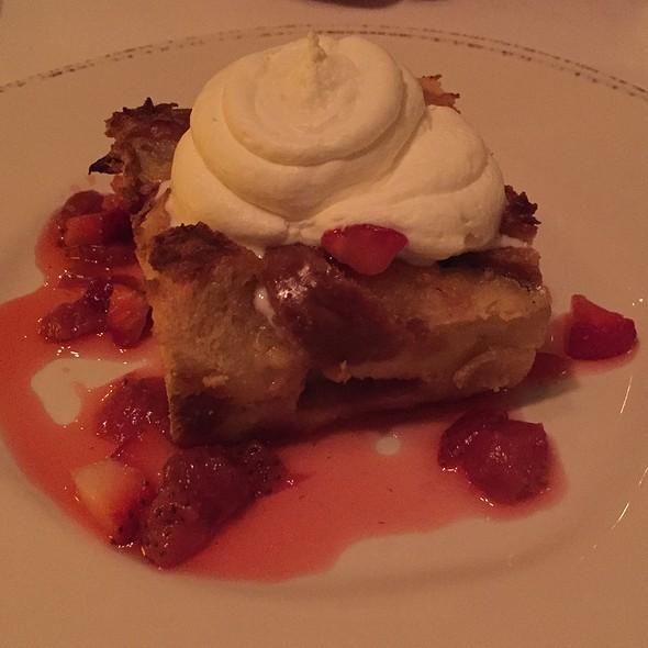 Strawberry Bread Pudding - Fascino, Montclair, NJ