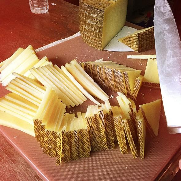 Manchengo Cheese Wheel @ PHS Pop-up Beer Garden