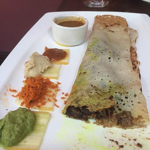 Eggplant Dosa @ malabar restaurant