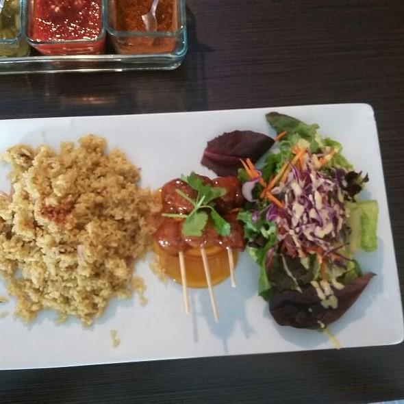 Orange Chicken Lunch Plate @ Thai Talay
