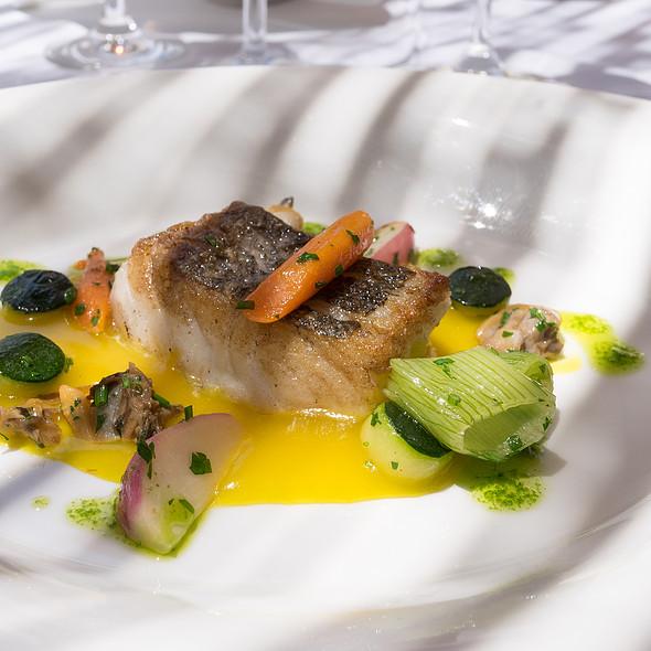 Merluza, Mussles, Vegetables @ Es Raco d'es Teix