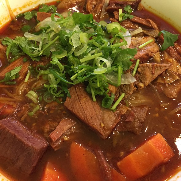 Beef Stew With Rice Noodles @ Pho Viet #2
