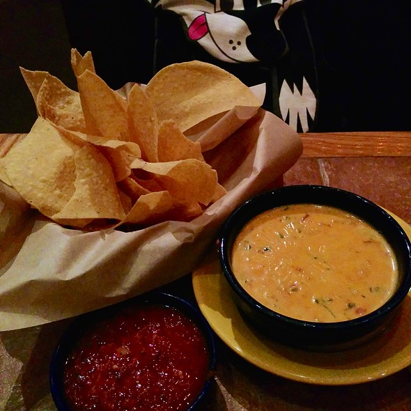 Queso And Chips @ On the Border Mexican Grill