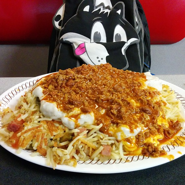 Triple hash browns all the way @ Waffle House 1808