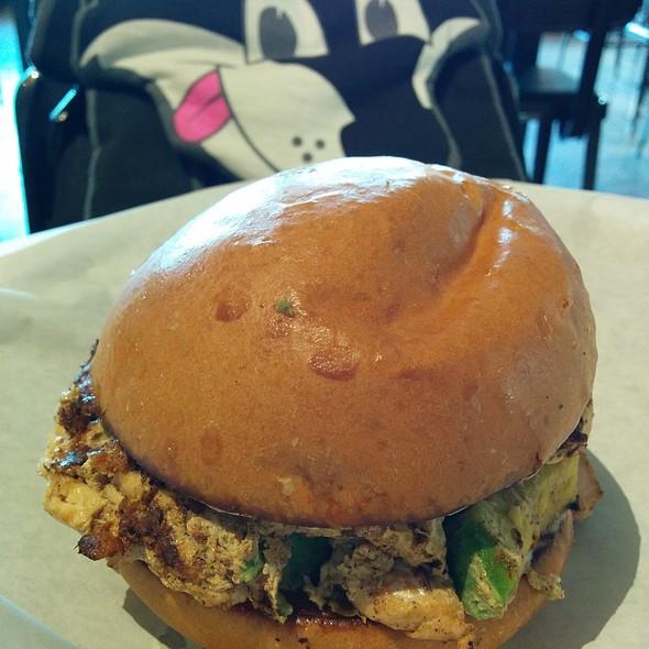 Swimmin' Up Stream Burger @ Grub Burger Bar