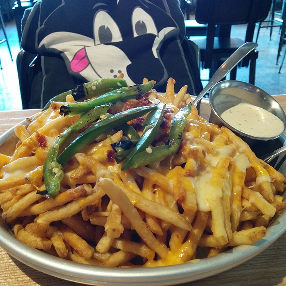 Cheese Fries @ Grub Burger Bar
