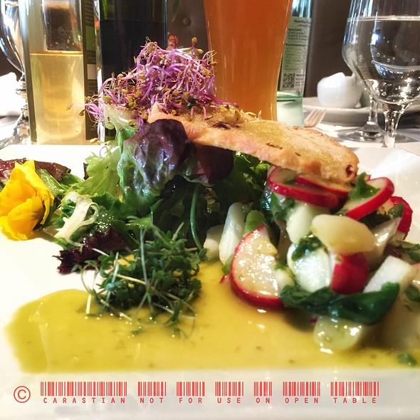 Asparagus & Radishes Salad @ Lindners Stub'n