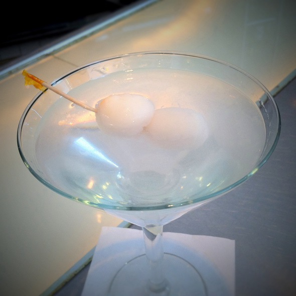 Lychee Martini @ R & G Lounge