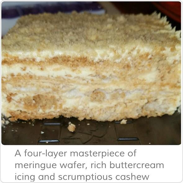 Sans rival cake red ribbon recipe