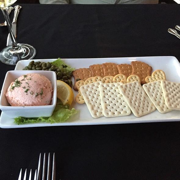 Salmon Spread And Crackers @ Cape Fox Lodge