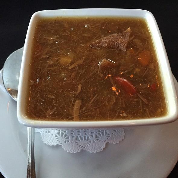Sesame Ginger Soup With Pork @ Cape Fox Lodge