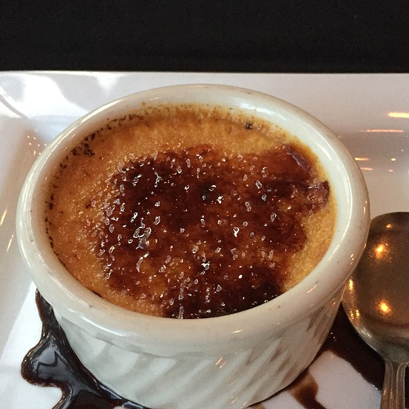 Creme Brulee @ Cape Fox Lodge