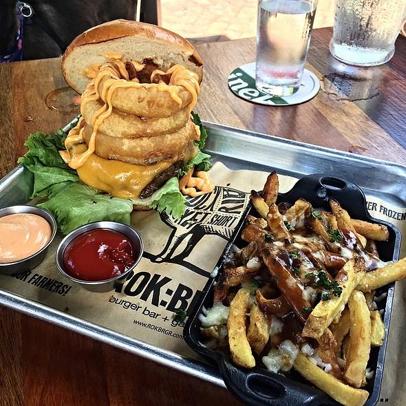 Late-Night Cravings Burger