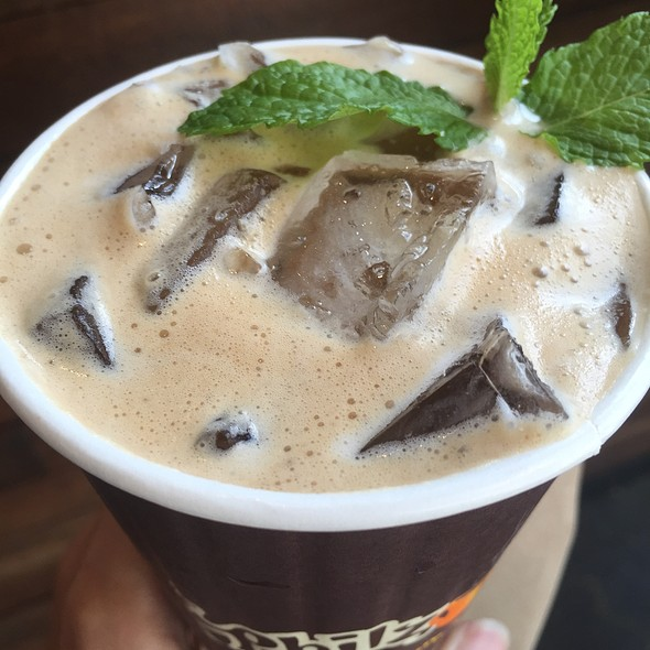 Mint Mojito Iced Coffee @ Philz Coffee