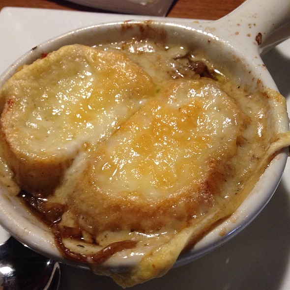 French Onion Soup @ Slippery Otter Pub