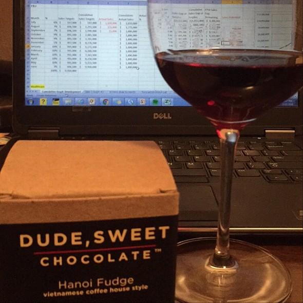 Wine & Chocolate @ Home