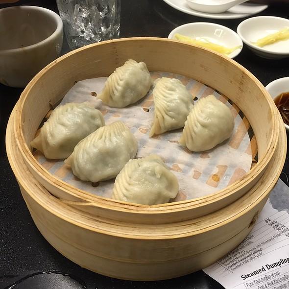 Vegetable & Pork Dumplings @ Din Tai Fung